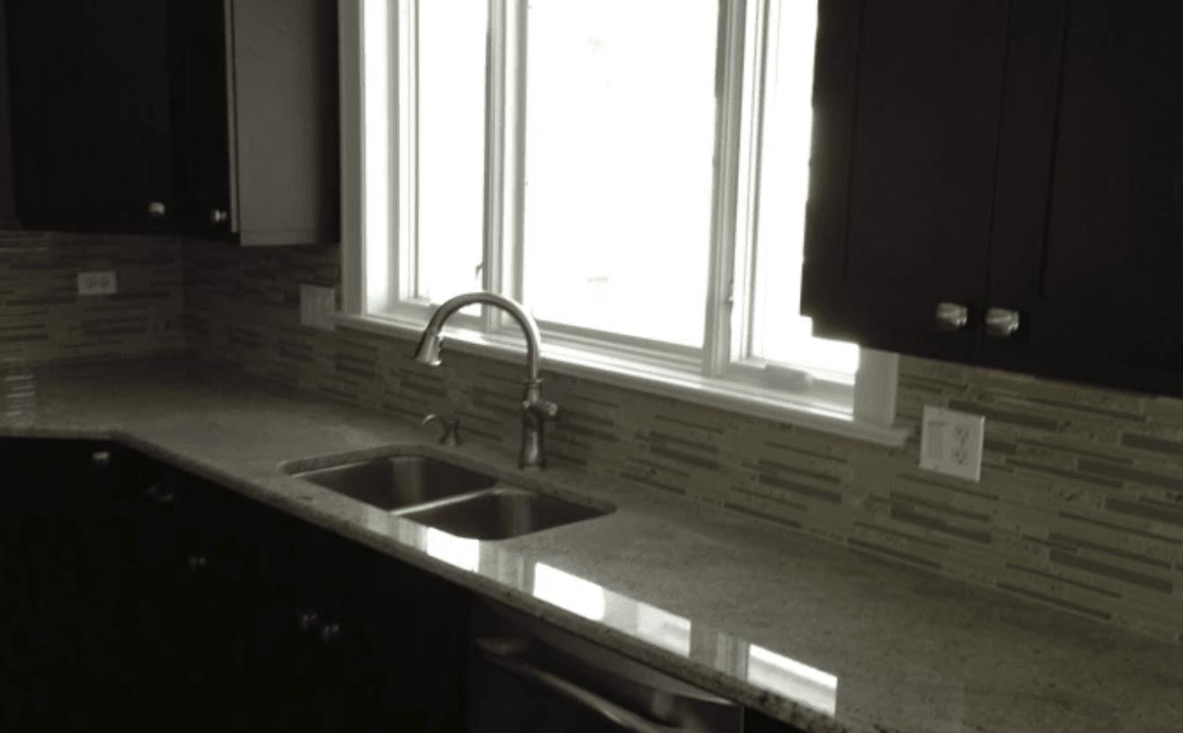 Tile backsplash from Superb Carpets, Inc. in Wheaton, IL