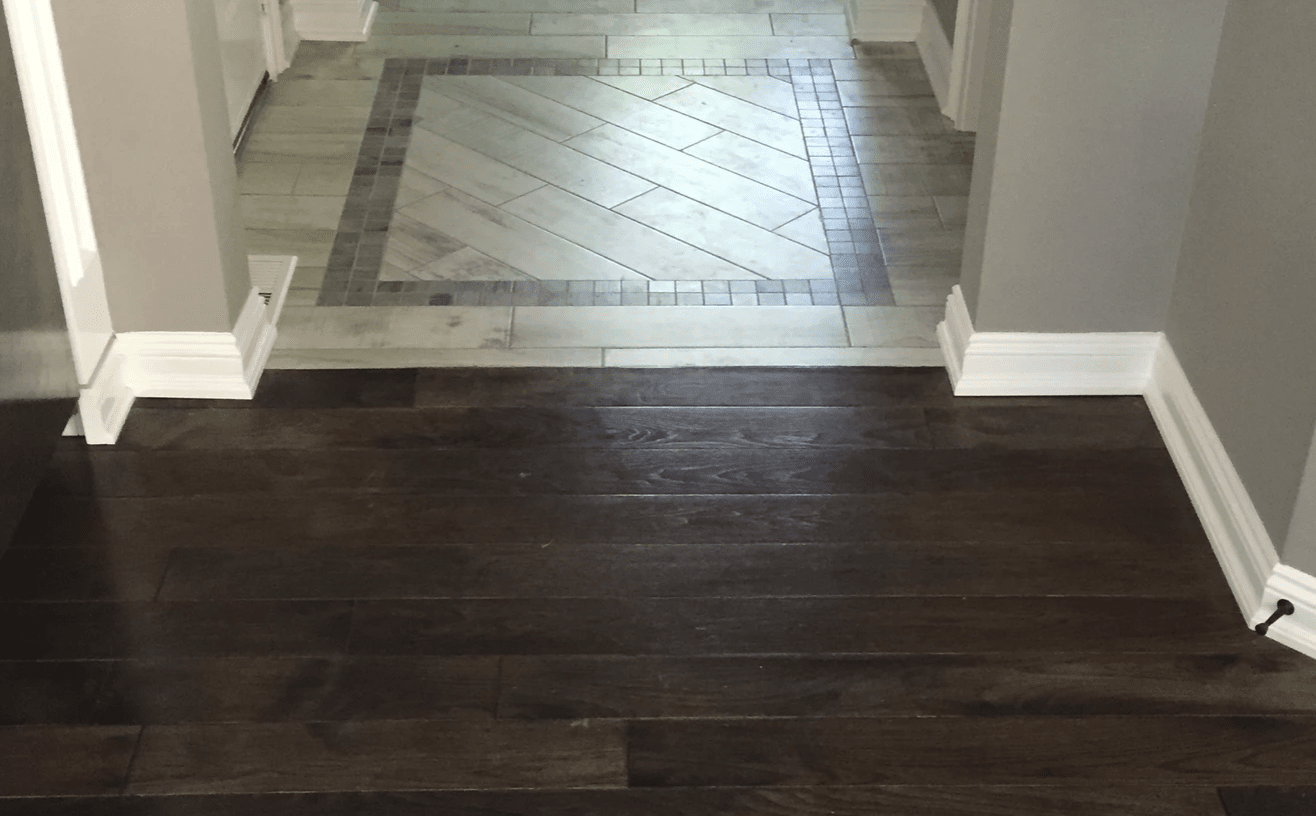 Hardwood flooring from Superb Carpets, Inc. in Wheaton, IL