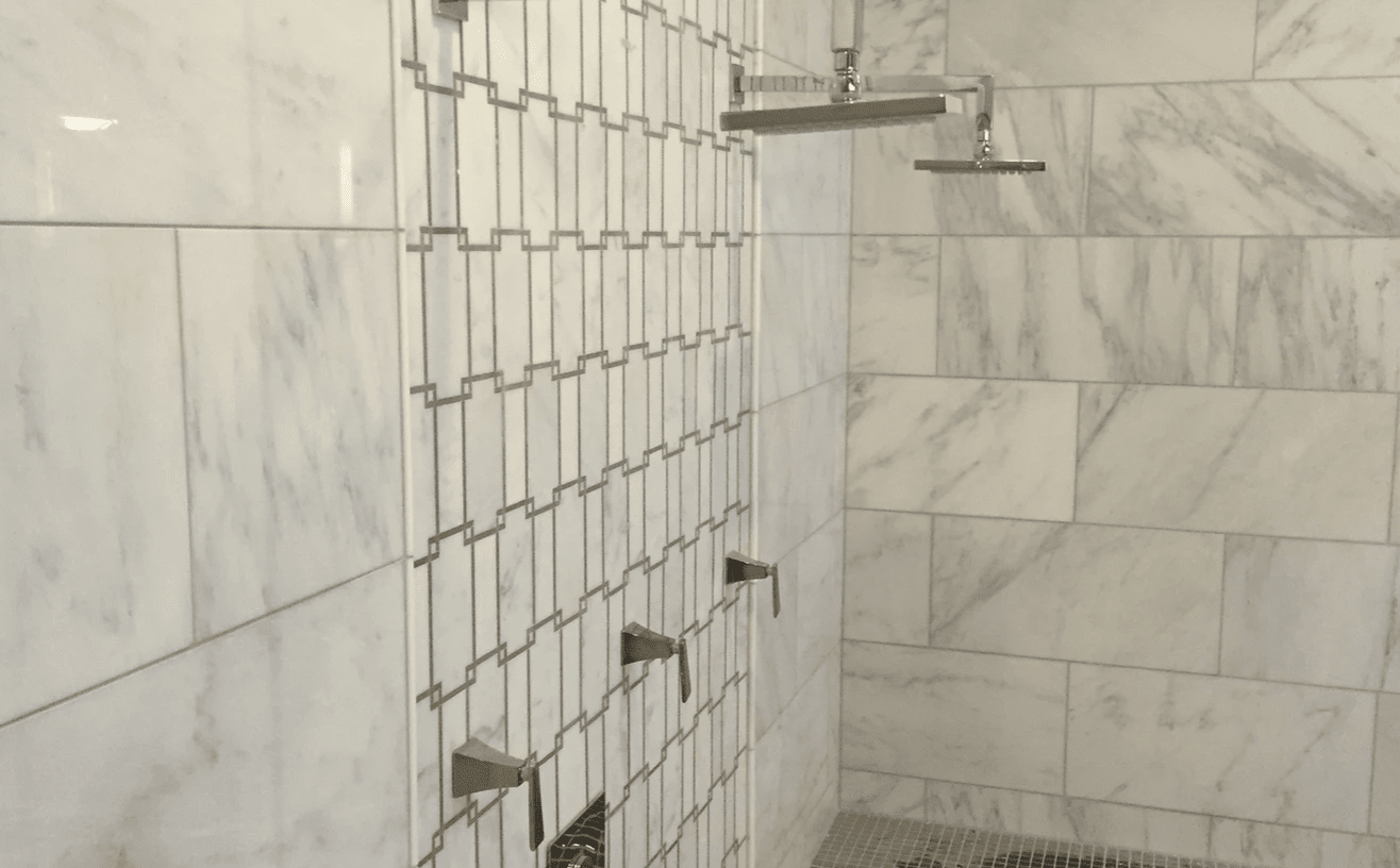 Shower tiles from Superb Carpets, Inc. in West Chicago, IL
