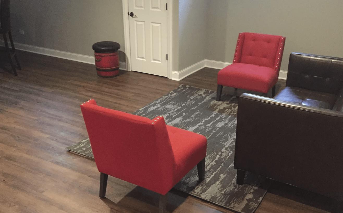 Luxury vinyl flooring from Superb Carpets, Inc. in Wheaton, IL