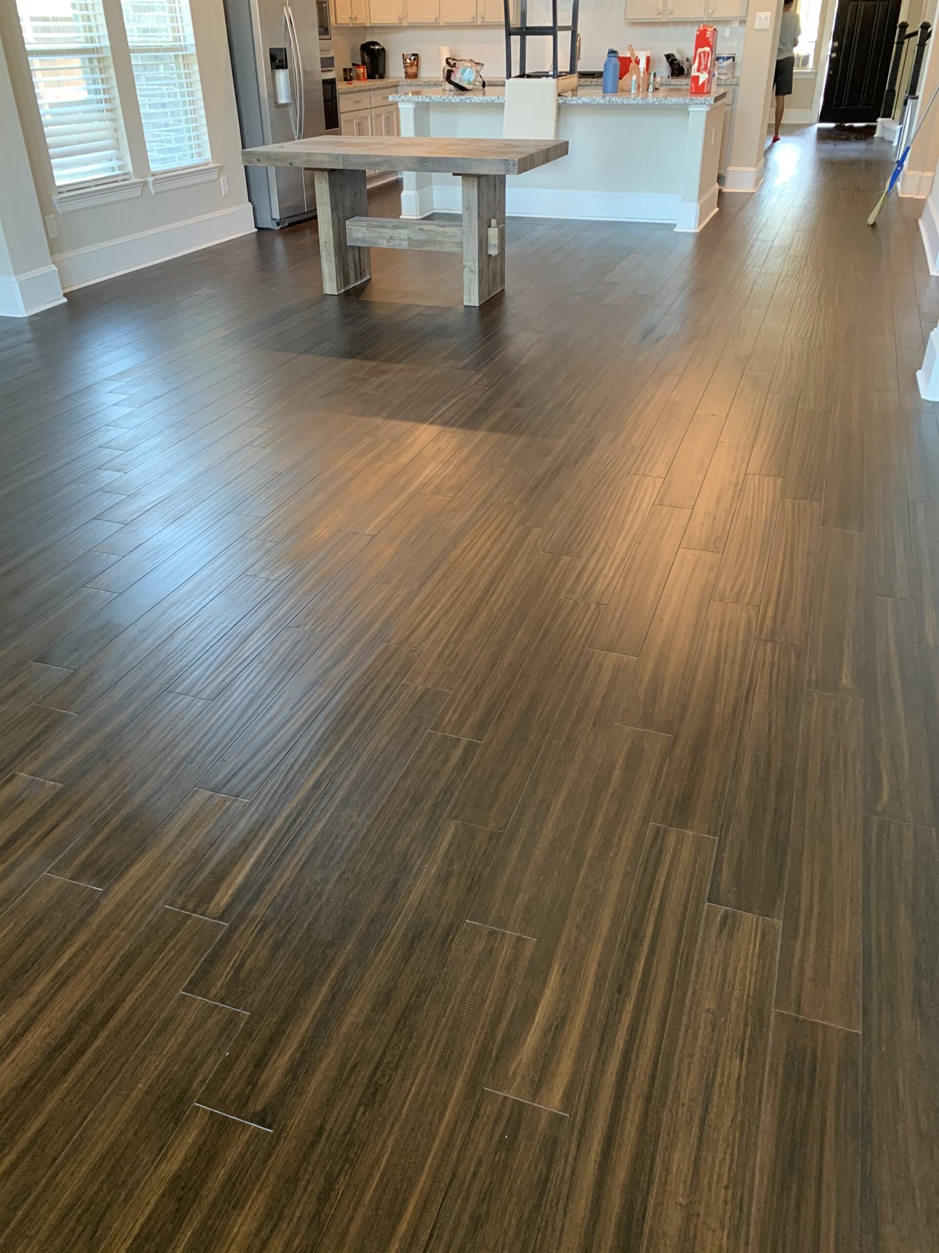 Bamboo flooring from Houston Floor Installation Services in Houston, TX