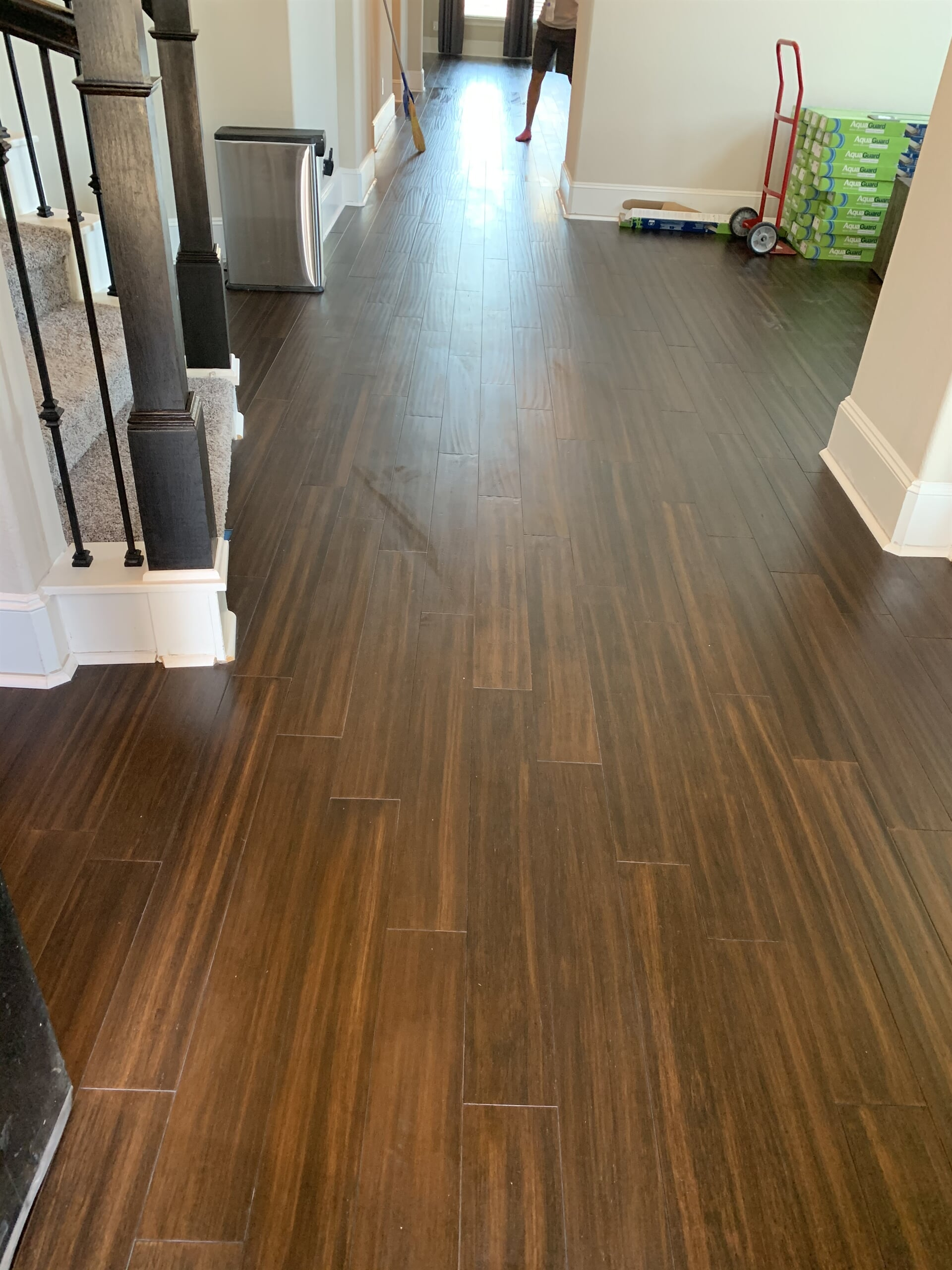 Bamboo flooring from Houston Floor Installation Services in Humble, TX