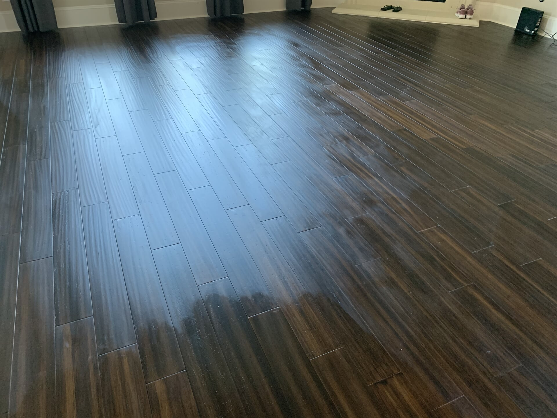Bamboo flooring from Houston Floor Installation Services in Conroe, TX