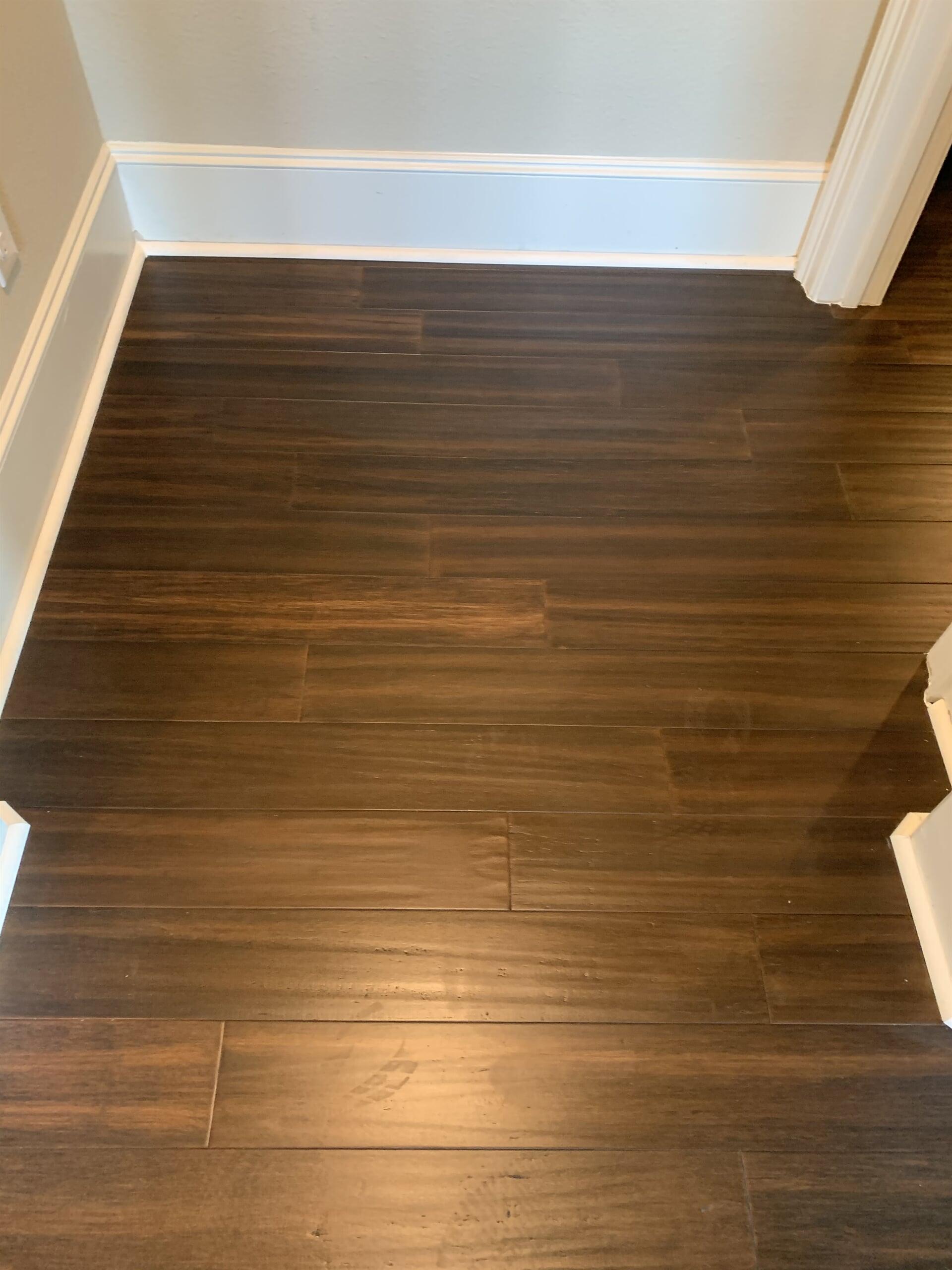 Bamboo flooring from Houston Floor Installation Services in Katy, TX