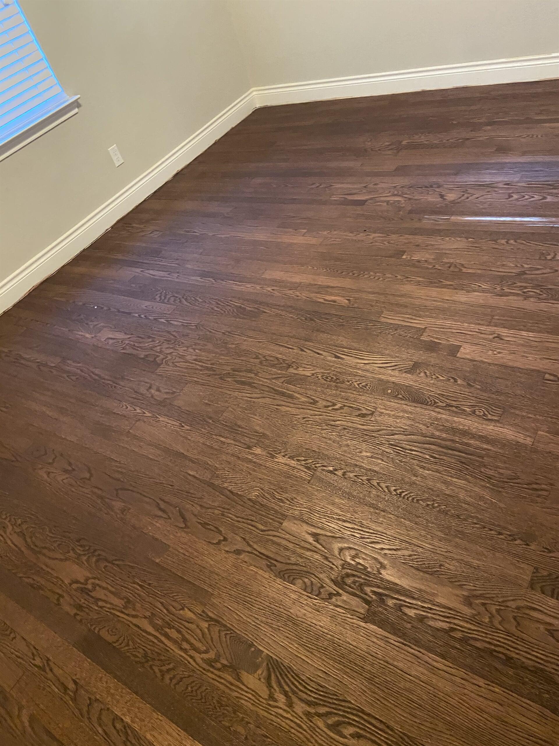Hardwood refinishing from Houston Floor Installation Services in Houston, TX