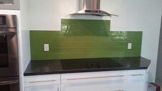 tiny- green tile