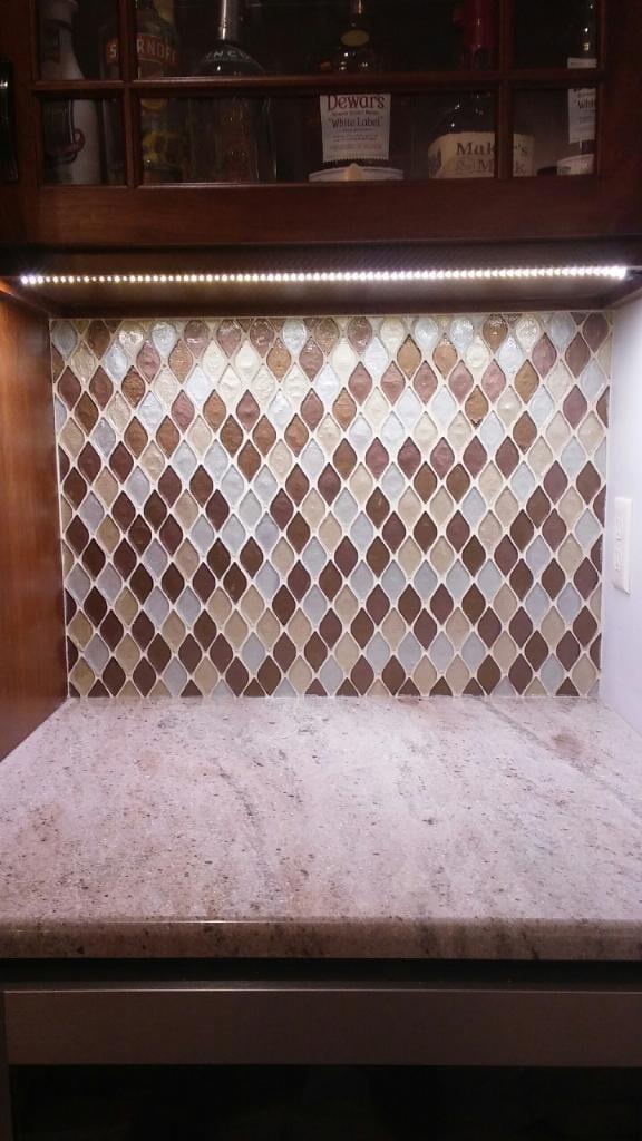 tile backsplash mosaic