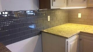 Tile backsplash 12.27