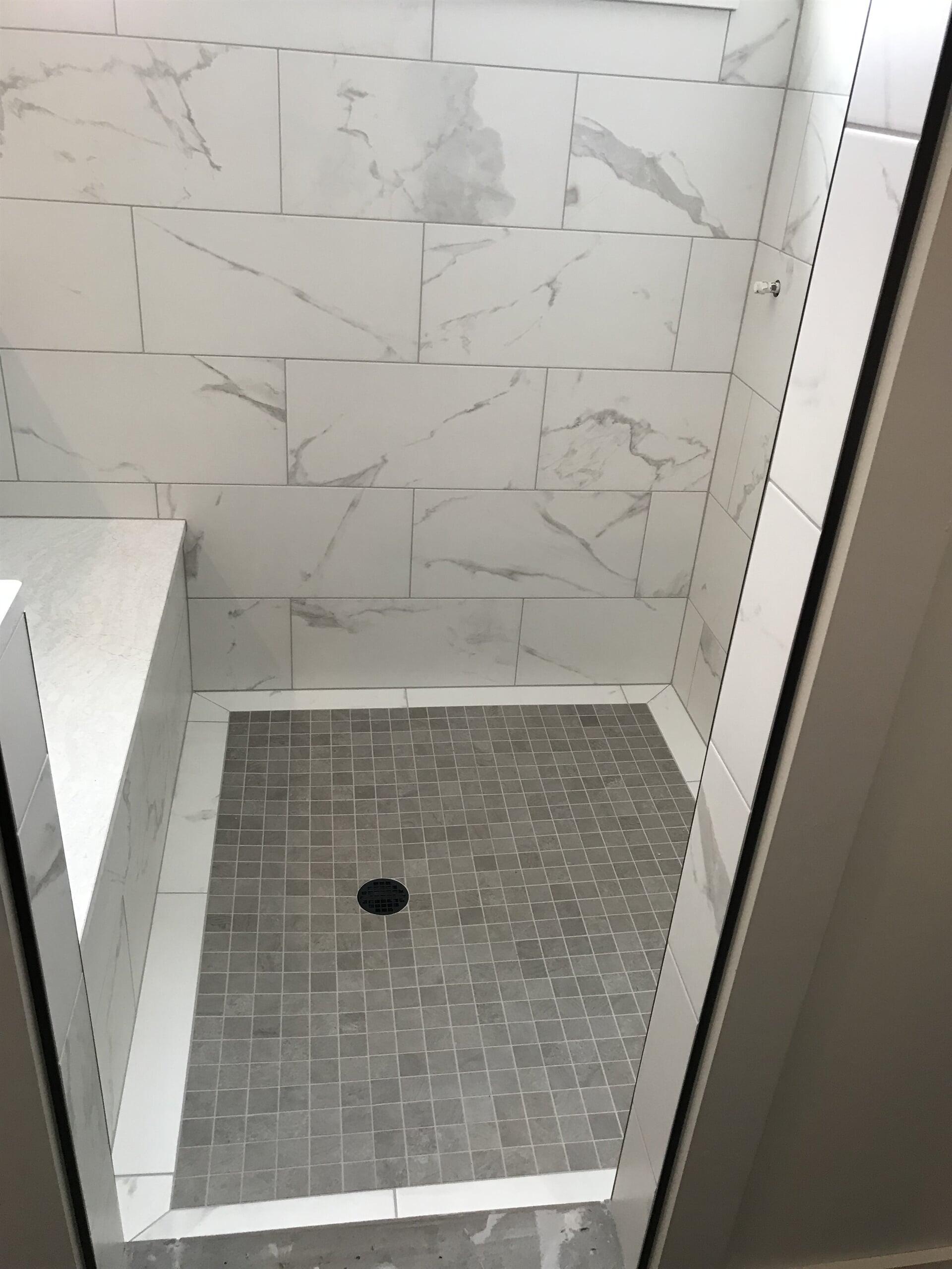 Kevin- tile shower floor 1.5.19