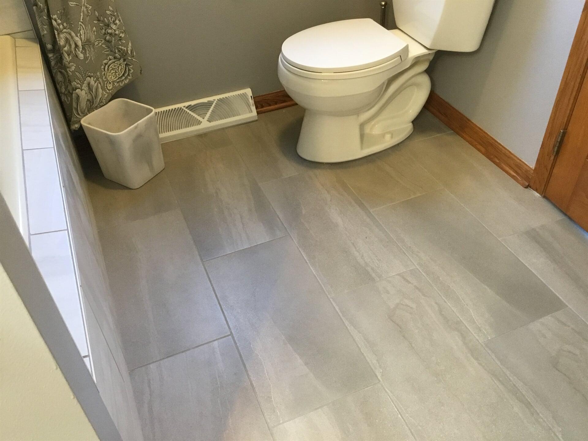 Harrington Bathroom Remodel - Tiny