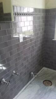 tiny tile bathroom
