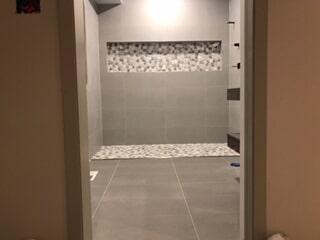Ellery Zero Entry Shower