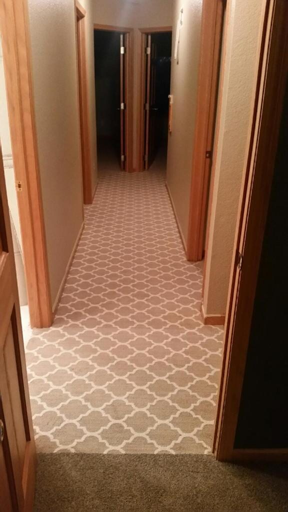 steve-pattern carpet