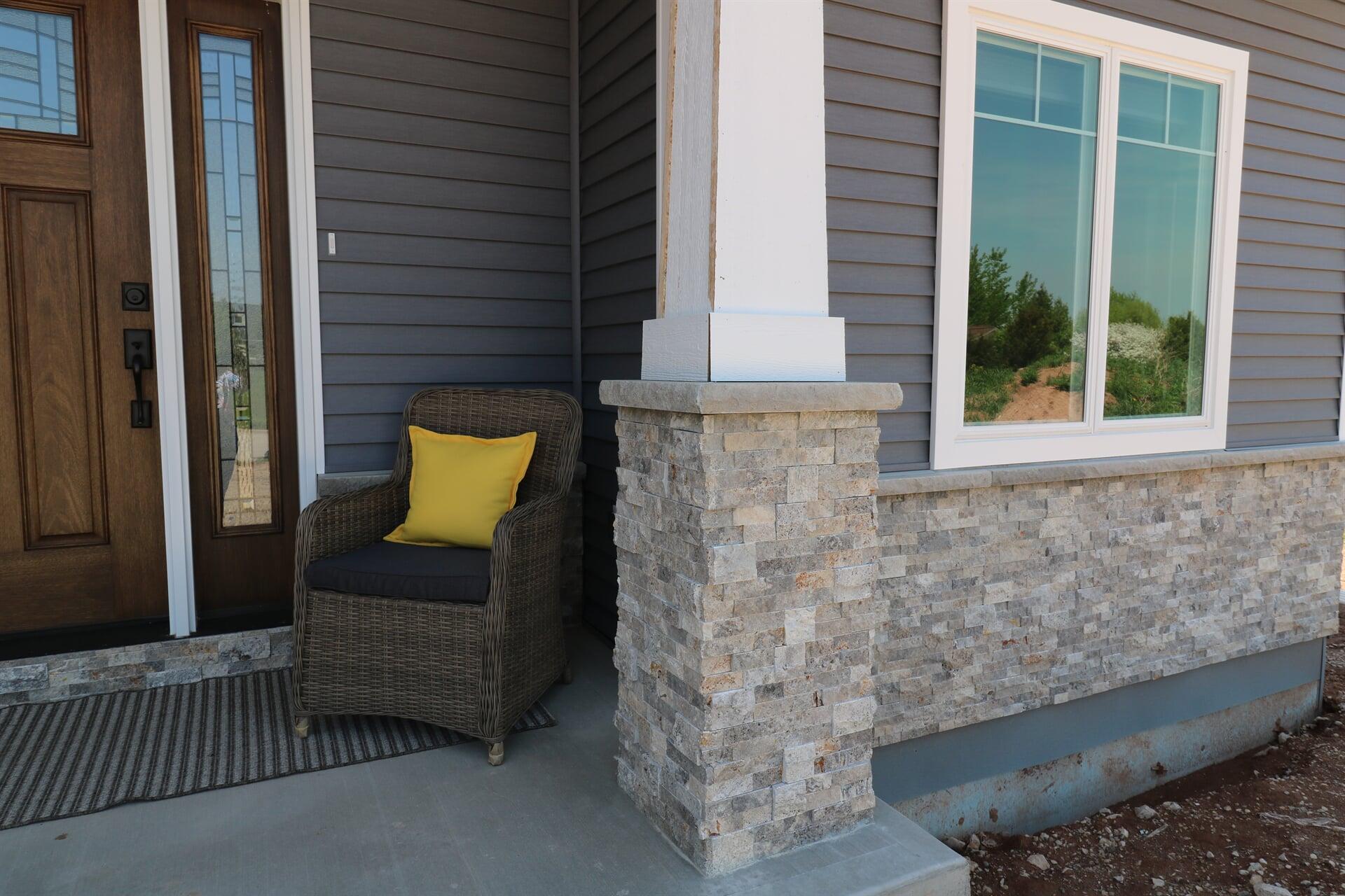 stack stone exterior