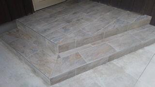 tiny tile steps