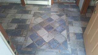 tiny tile floor
