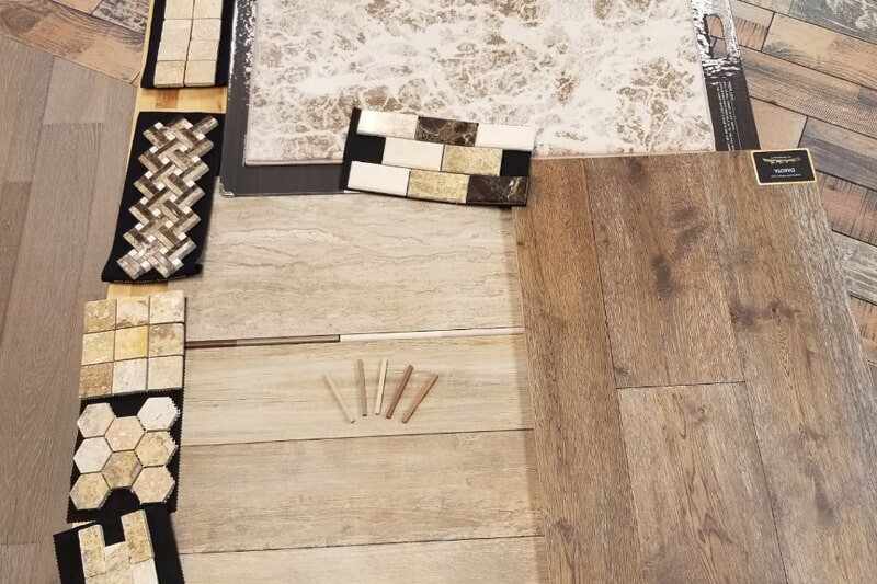 Tile flooring from Urban Flooring in Yukon, OK