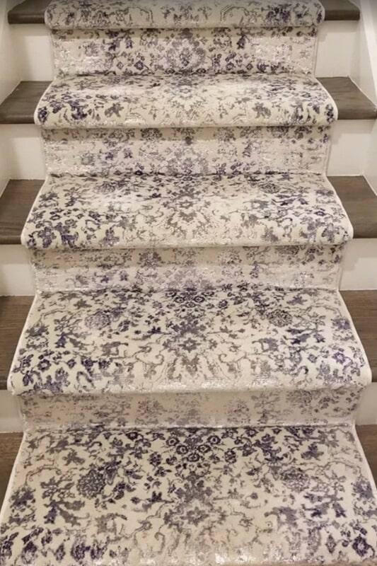 Carpet stair runner from Urban Flooring in Moore, OK