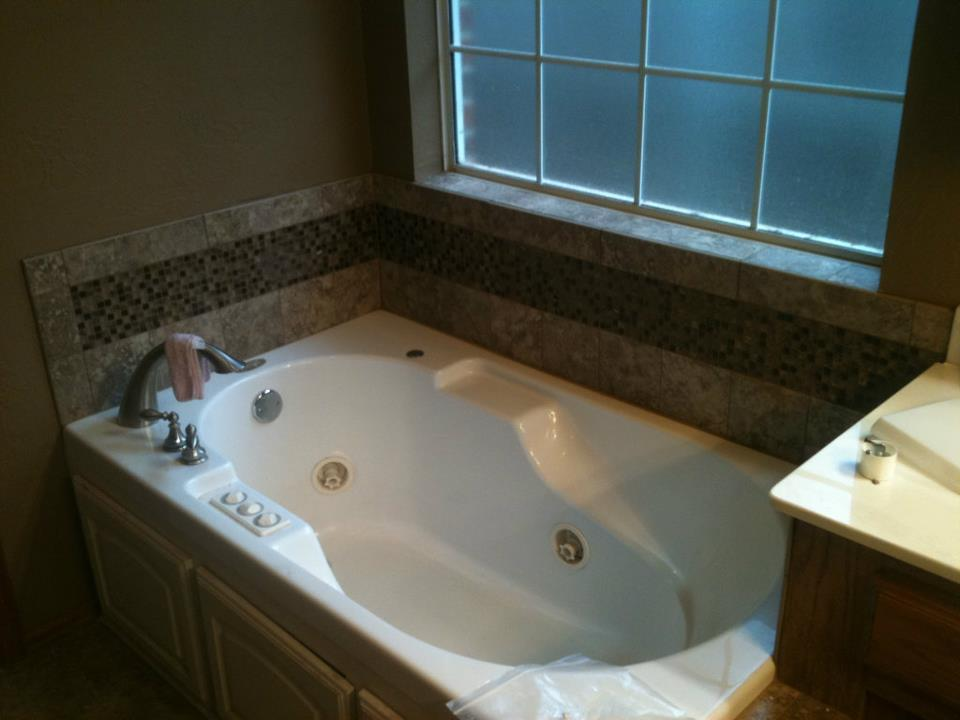 Bathroom tiles from Smith Carpet & Tile Center in Oklahoma City Proper