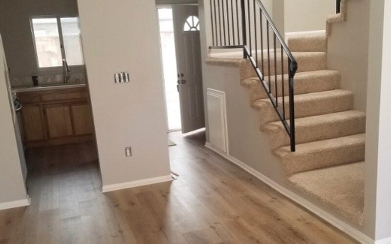 Home remodel in Santa Fe Springs, CA from Triple A Flooring Inc