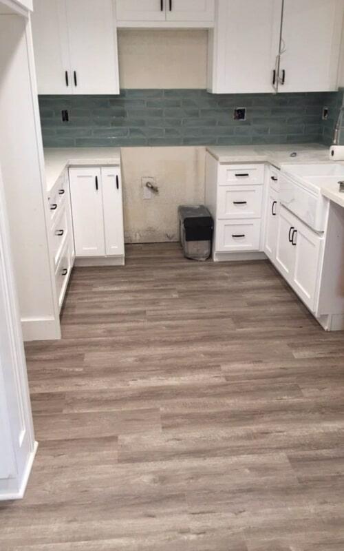 Kitchen flooring remodel in Norwalk, CA from Triple A Flooring Inc