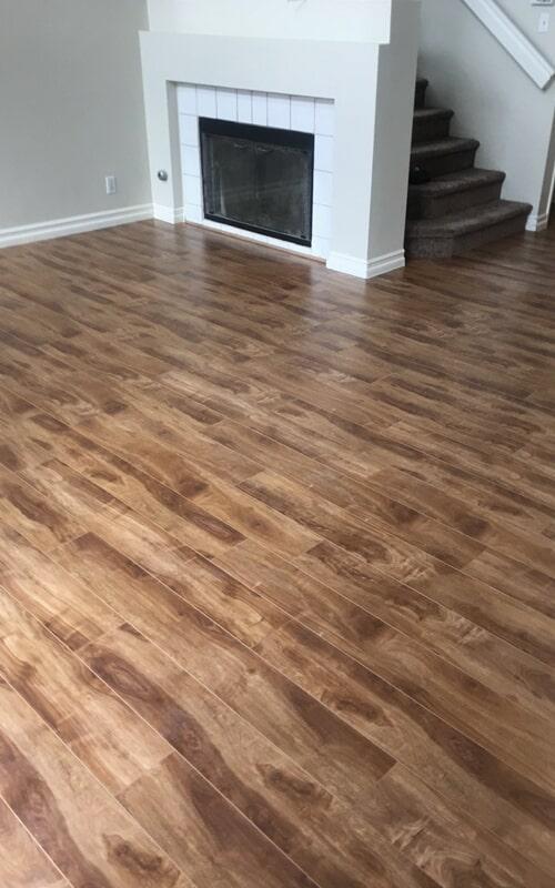 Modern wood look flooring in Whittier, CA from Triple A Flooring Inc