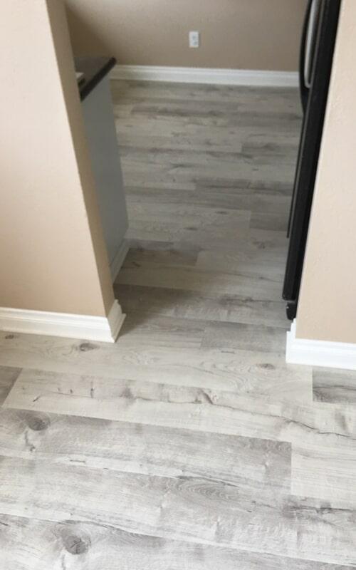 Gray tone flooring remodel in Santa Fe Springs, CA from Triple A Flooring Inc