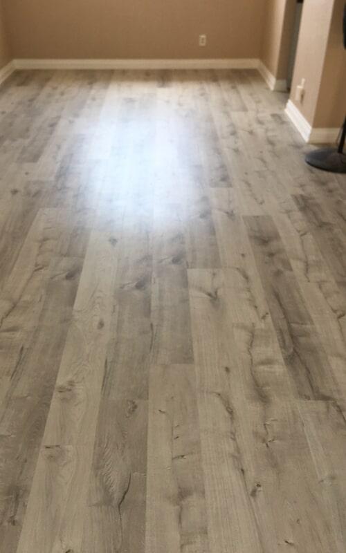 Bedroom flooring remodel in Whittier, CA from Triple A Flooring Inc