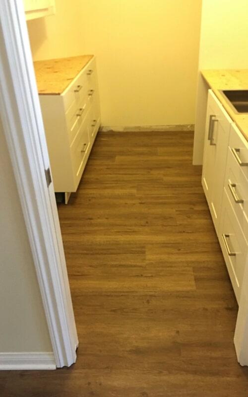 Waterproof flooring remodel in Brea, CA from Triple A Flooring Inc