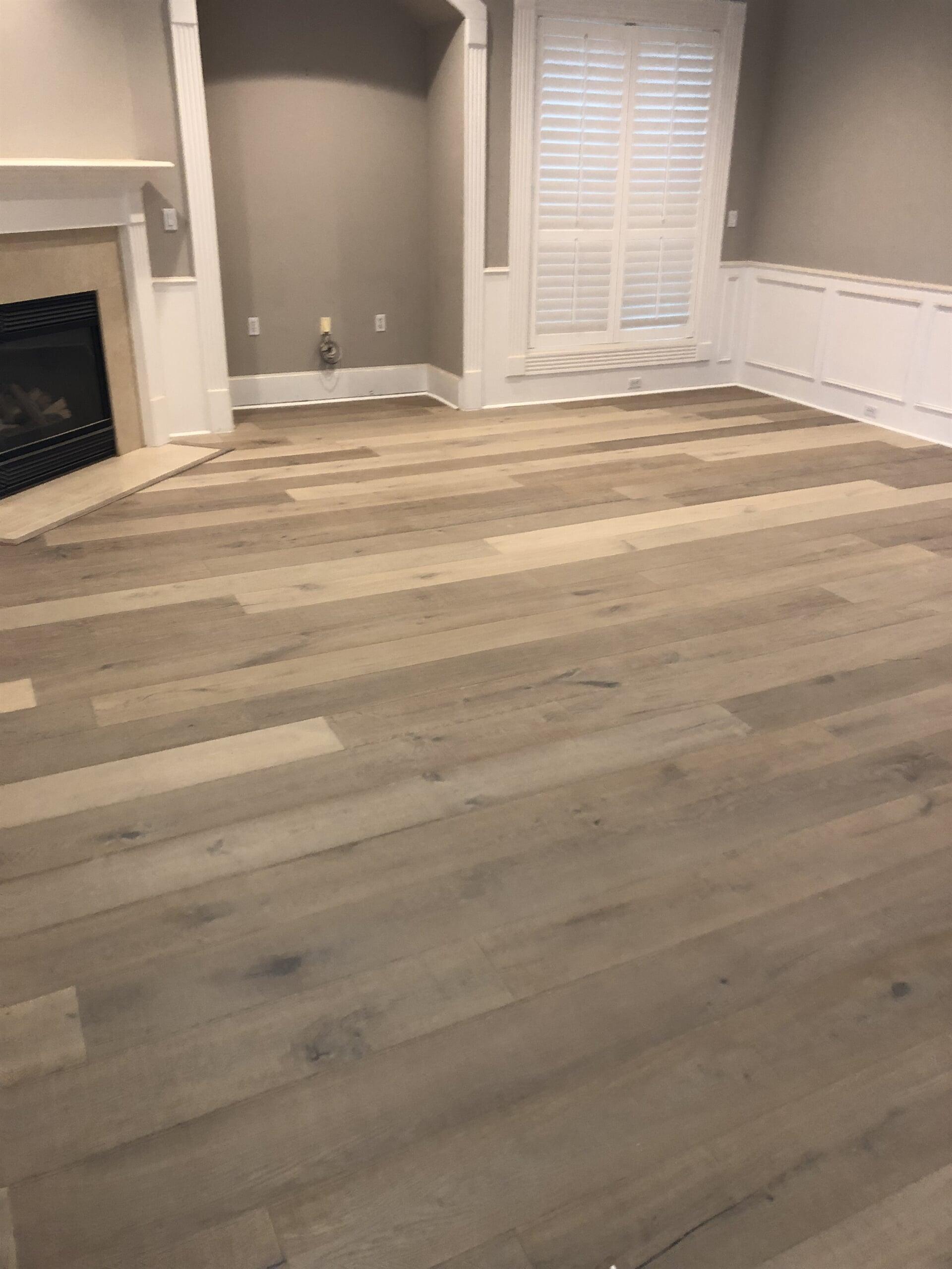 Engineered Hardwood flooring from Houston Floor Installation Services in Katy, TX