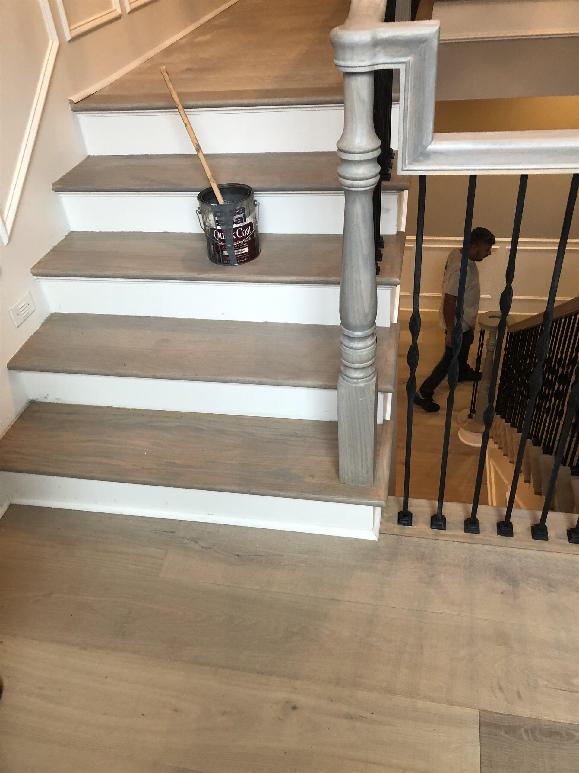 Engineered Hardwood flooring from Houston Floor Installation Services in Spring, TX