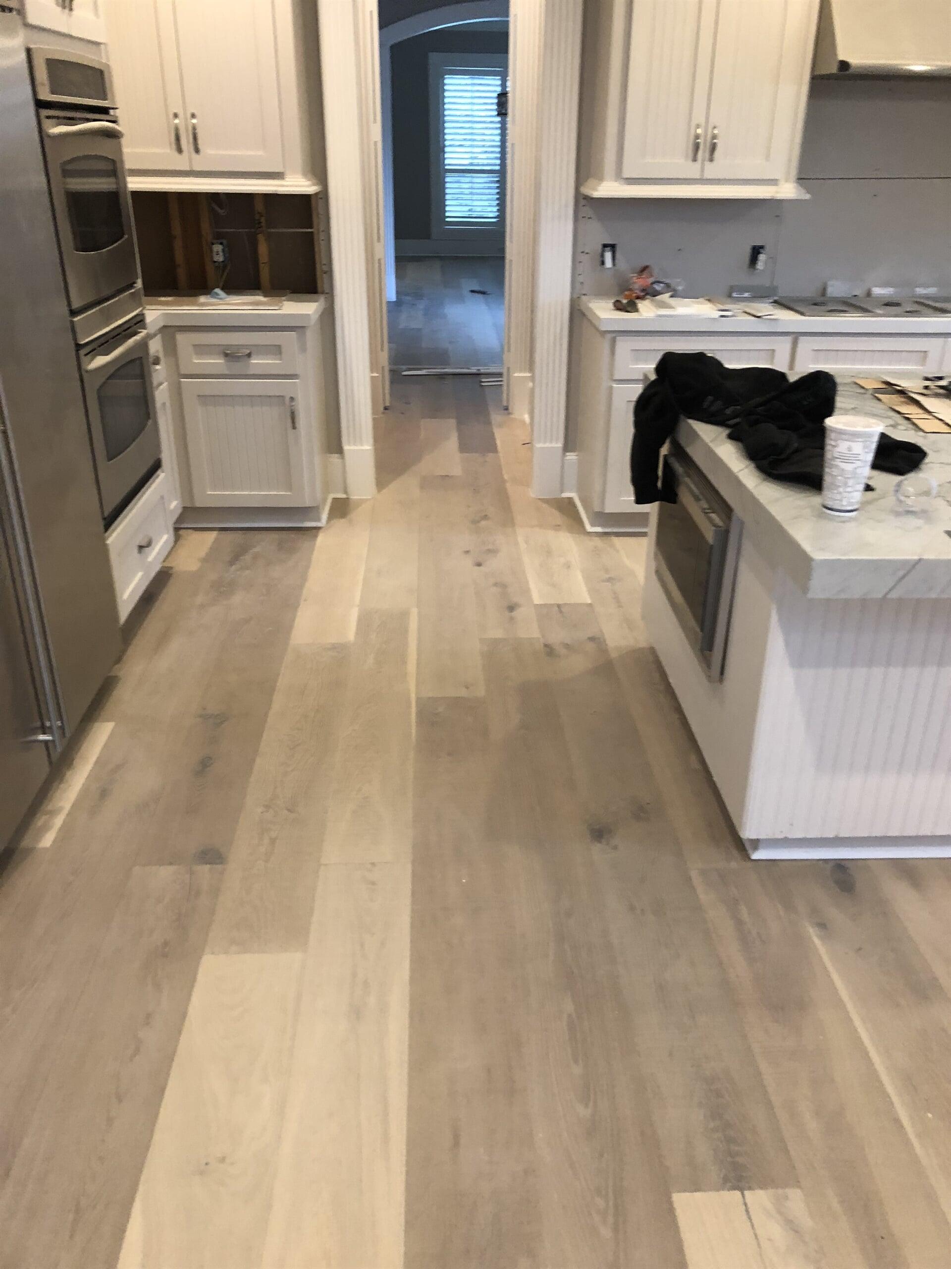 Engineered Hardwood flooring from Houston Floor Installation Services in Humble, TX