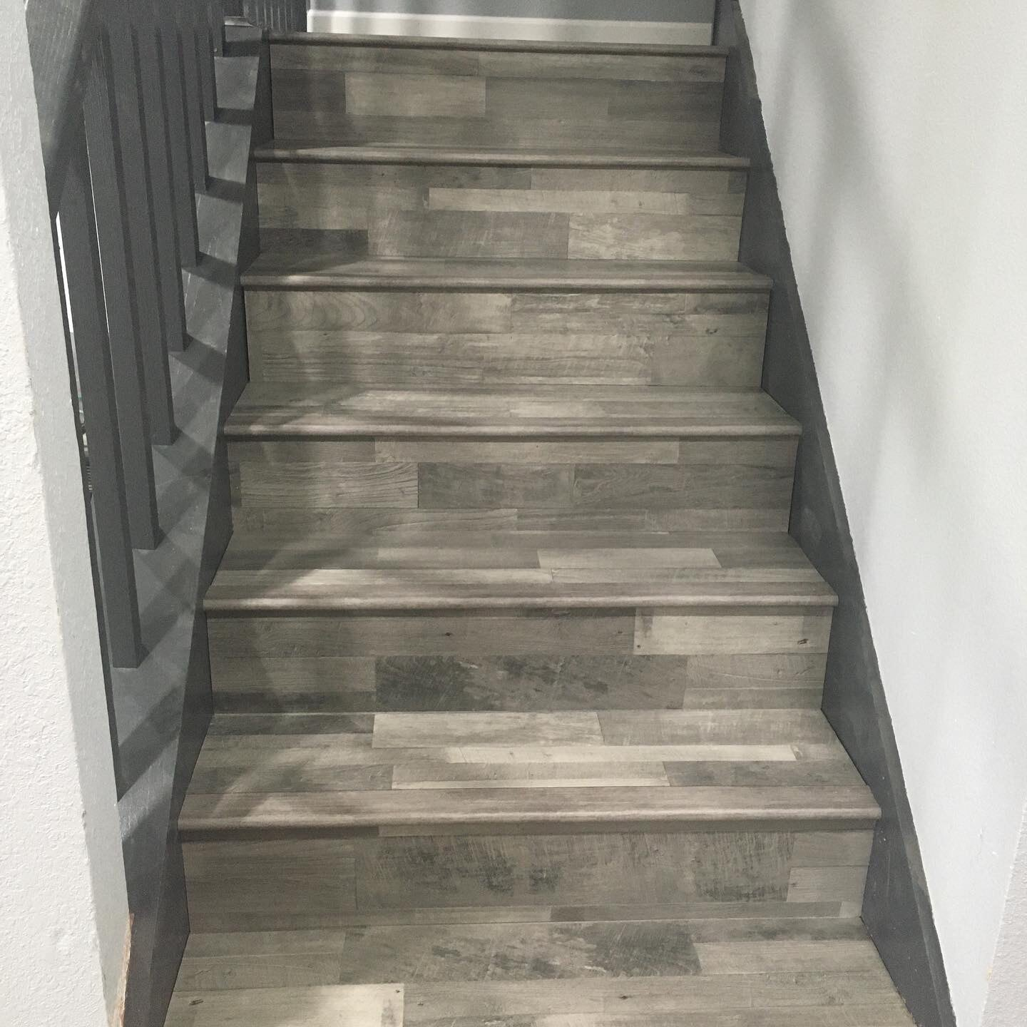 Hardwood stairs from Houston Floor Installation Services in Conroe, TX
