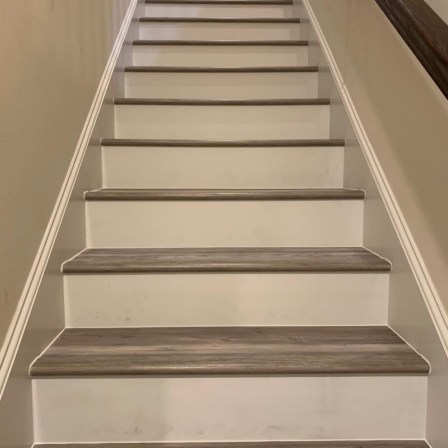 Hardwood stairs from Houston Floor Installation Services in Houston, TX