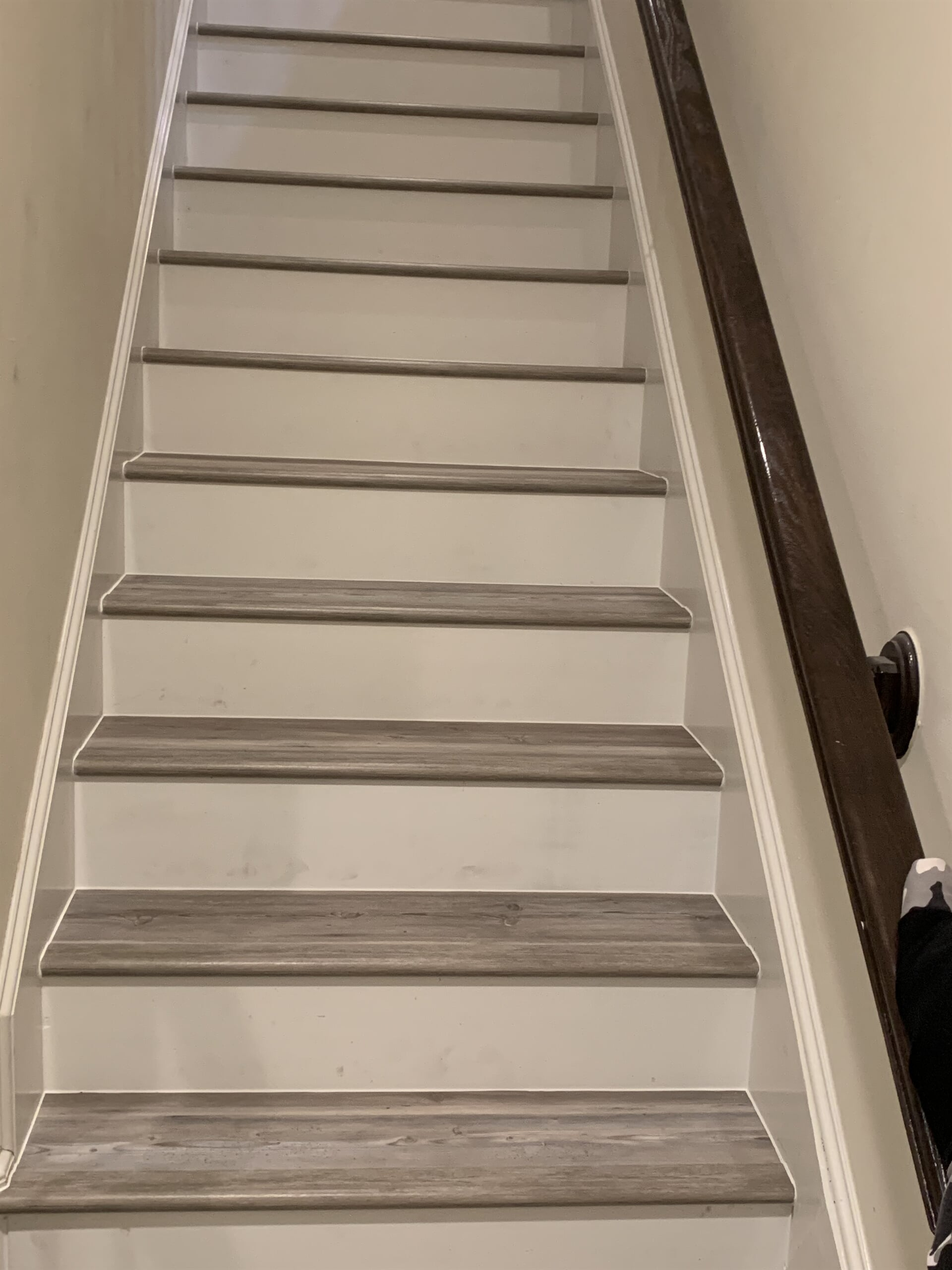 Hardwood stairs from Houston Floor Installation Services in Katy, TX