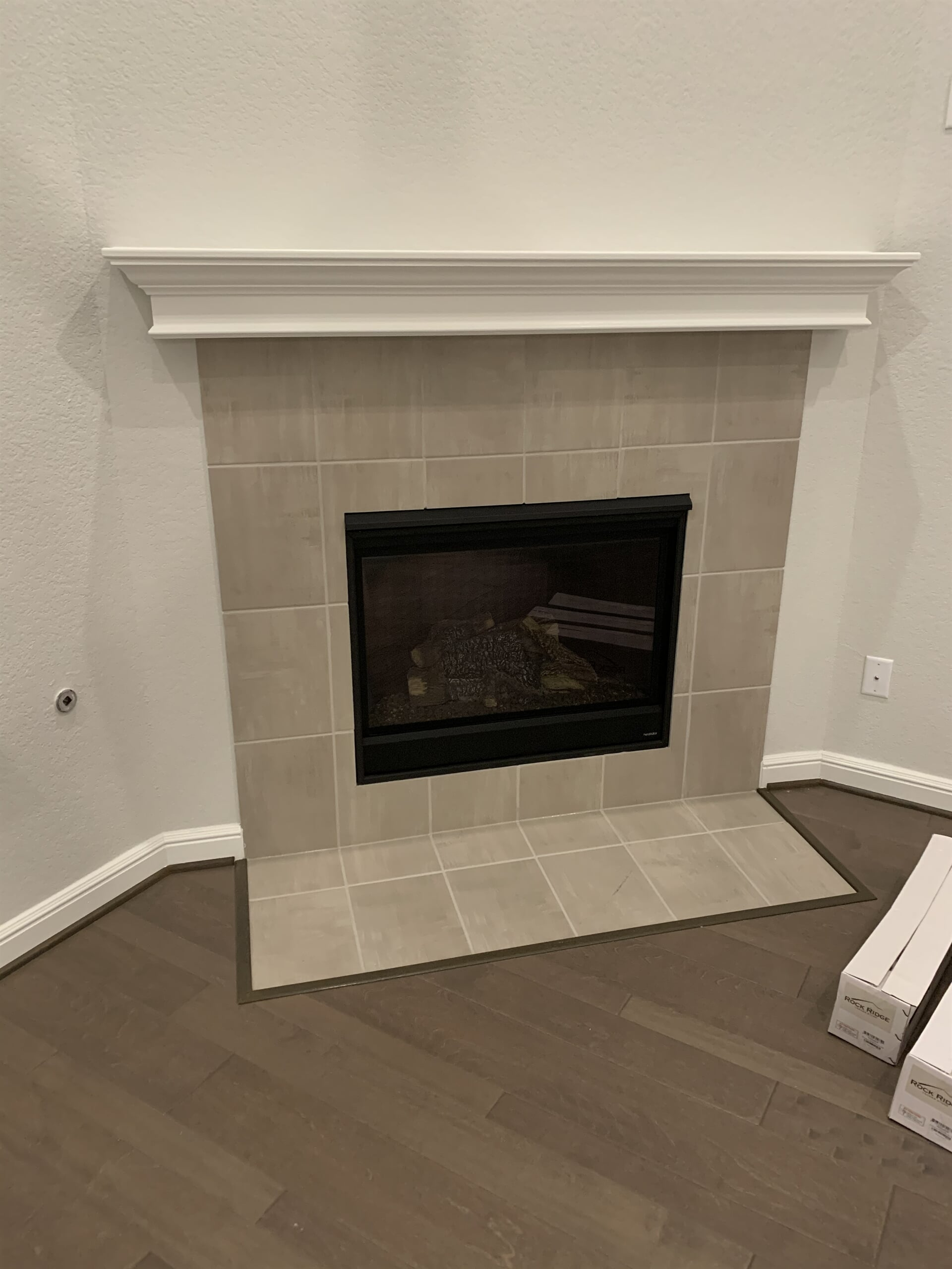 Fireplace from Houston Floor Installation Services in Katy, TX
