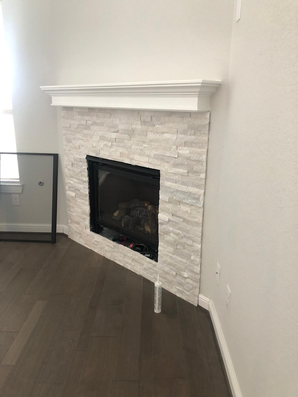 Fireplace from Houston Floor Installation Services in Spring, TX