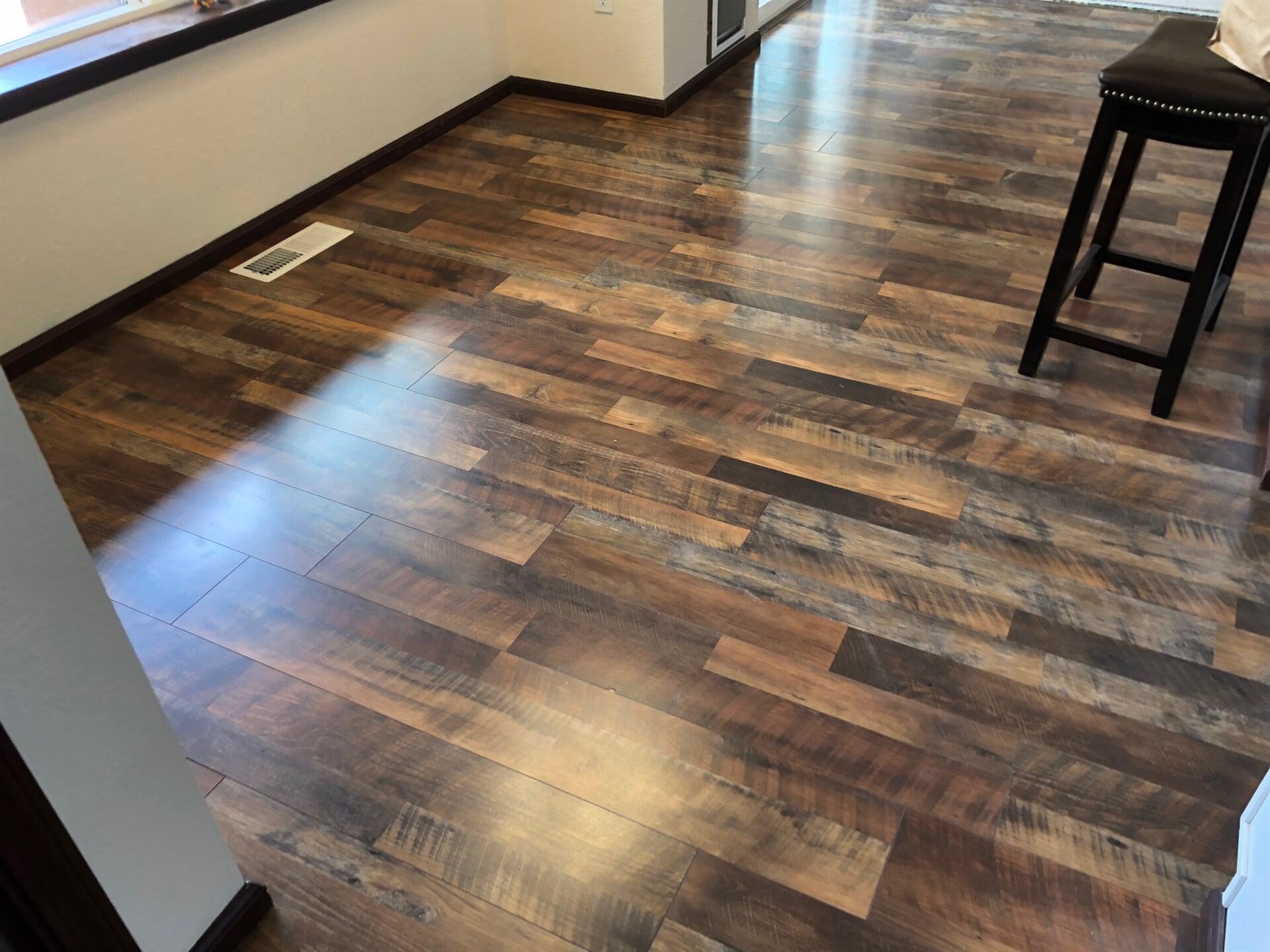 Hardwood flooring from Emerald Installation in Pierce County, WA