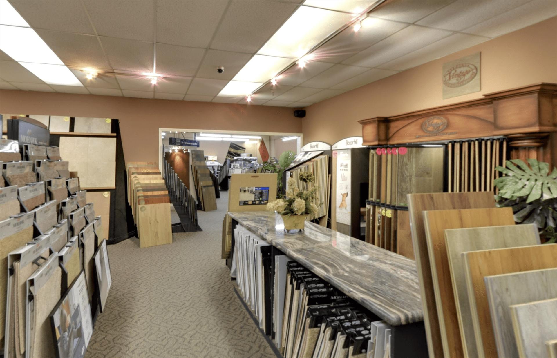 Belmont Carpets showroom near Anaheim, CA