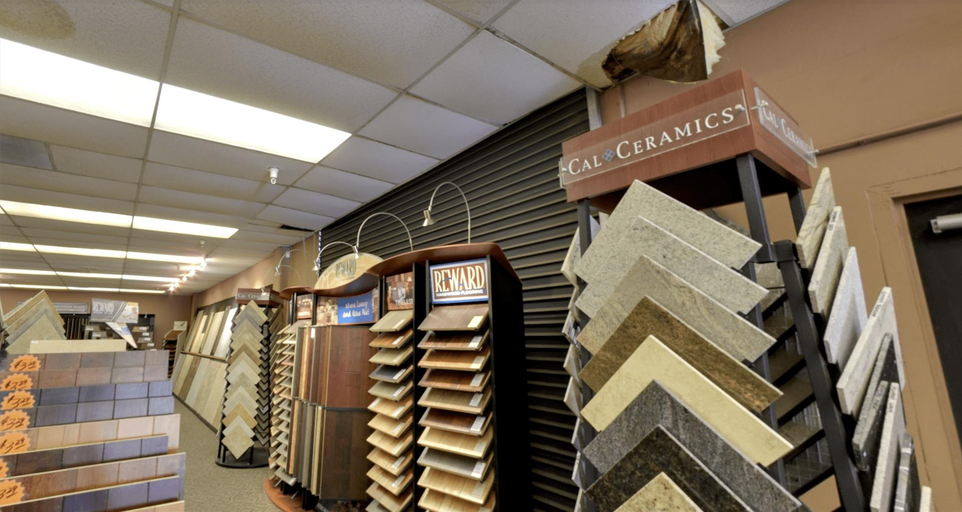 Belmont Carpets showroom near Yorba Linda, CA