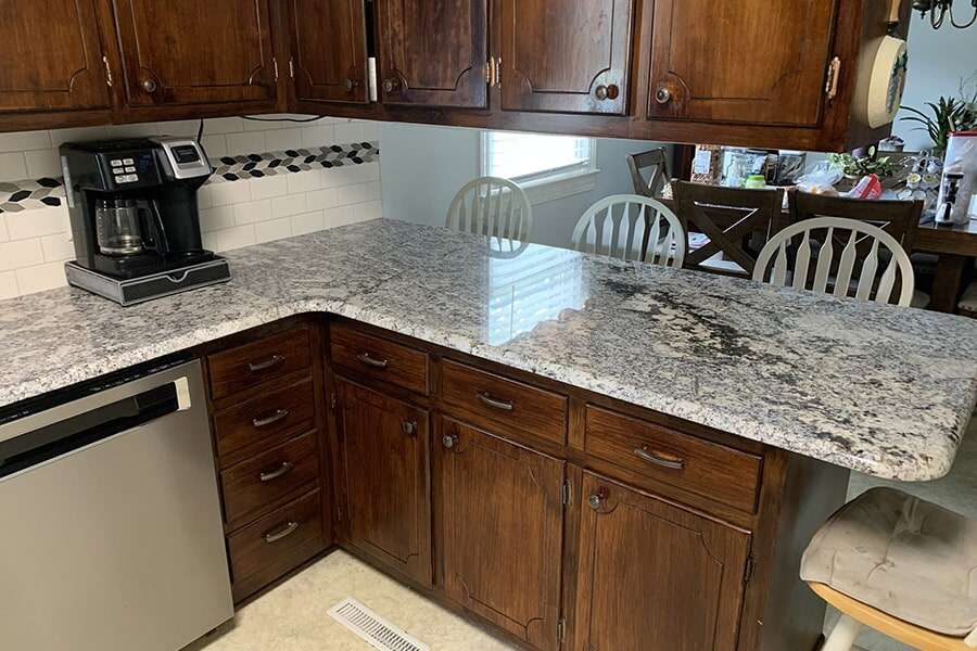 Large countertop space in Wilson, NC from Richie Ballance Flooring & Tile