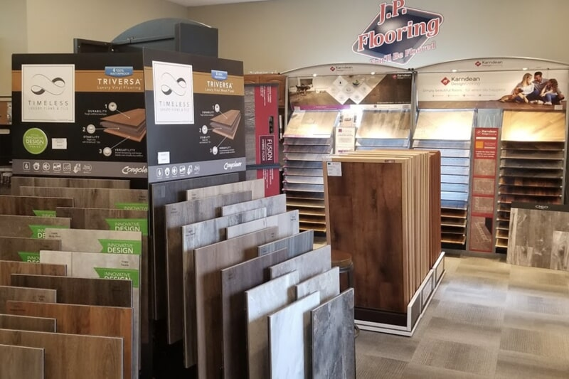 Hard surface flooring for your Jefferson, IA home from J.P. Flooring
