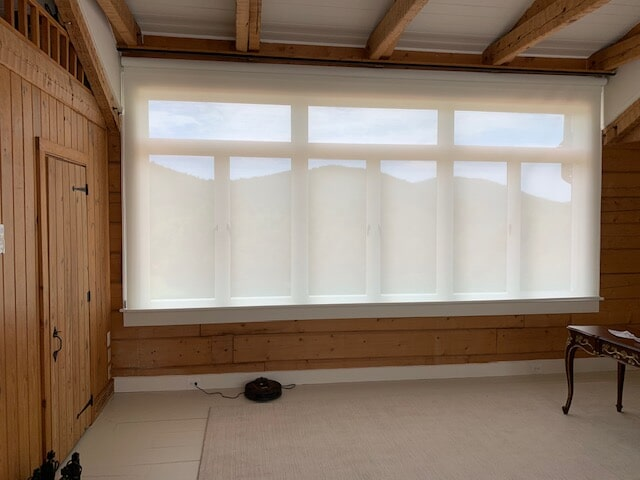 Large custom window treatment in Culpeper, VA from Early's Flooring Specialists & More