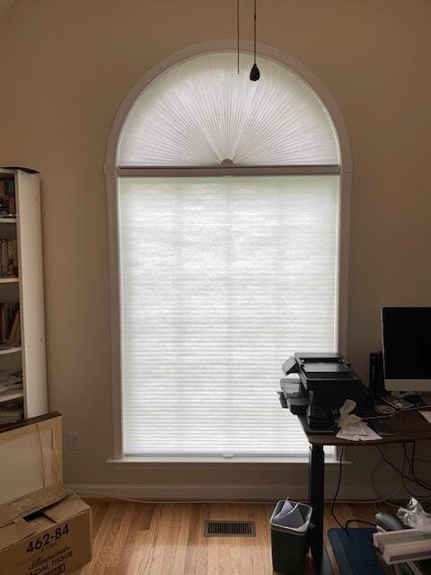 Custom window shades in Warrenton, VA from Early's Flooring Specialists & More