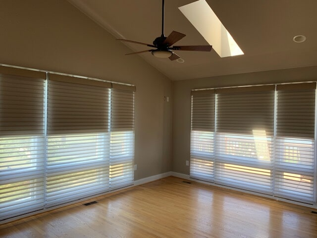 Natural window shades in Front Royal, VA from Early's Flooring Specialists & More