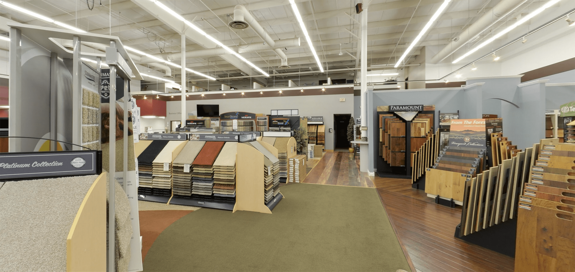 Paramount Flooring for your Minnesota business from Hiller Stores