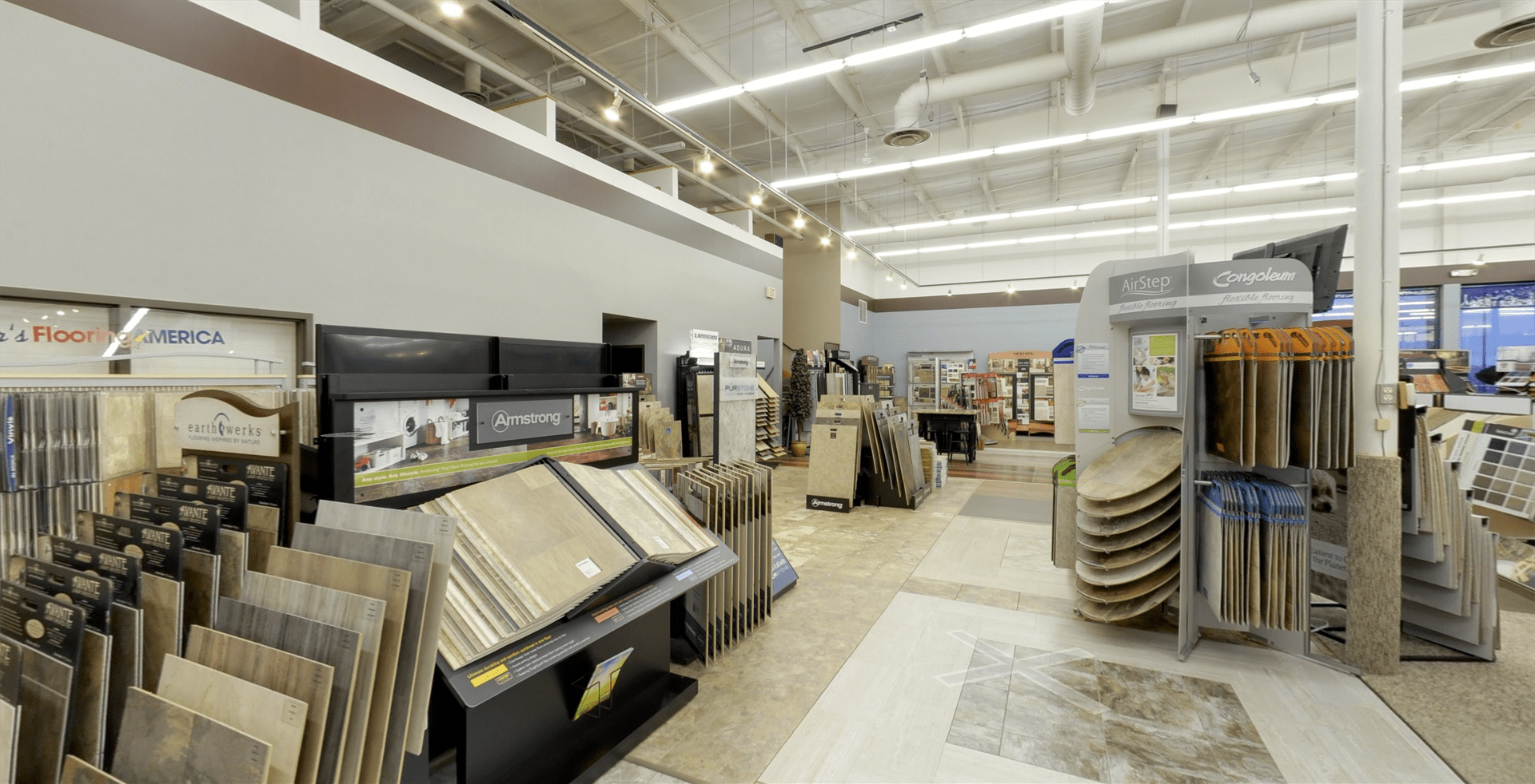 Armstrong flooring for your South Dakota business from Hiller Stores