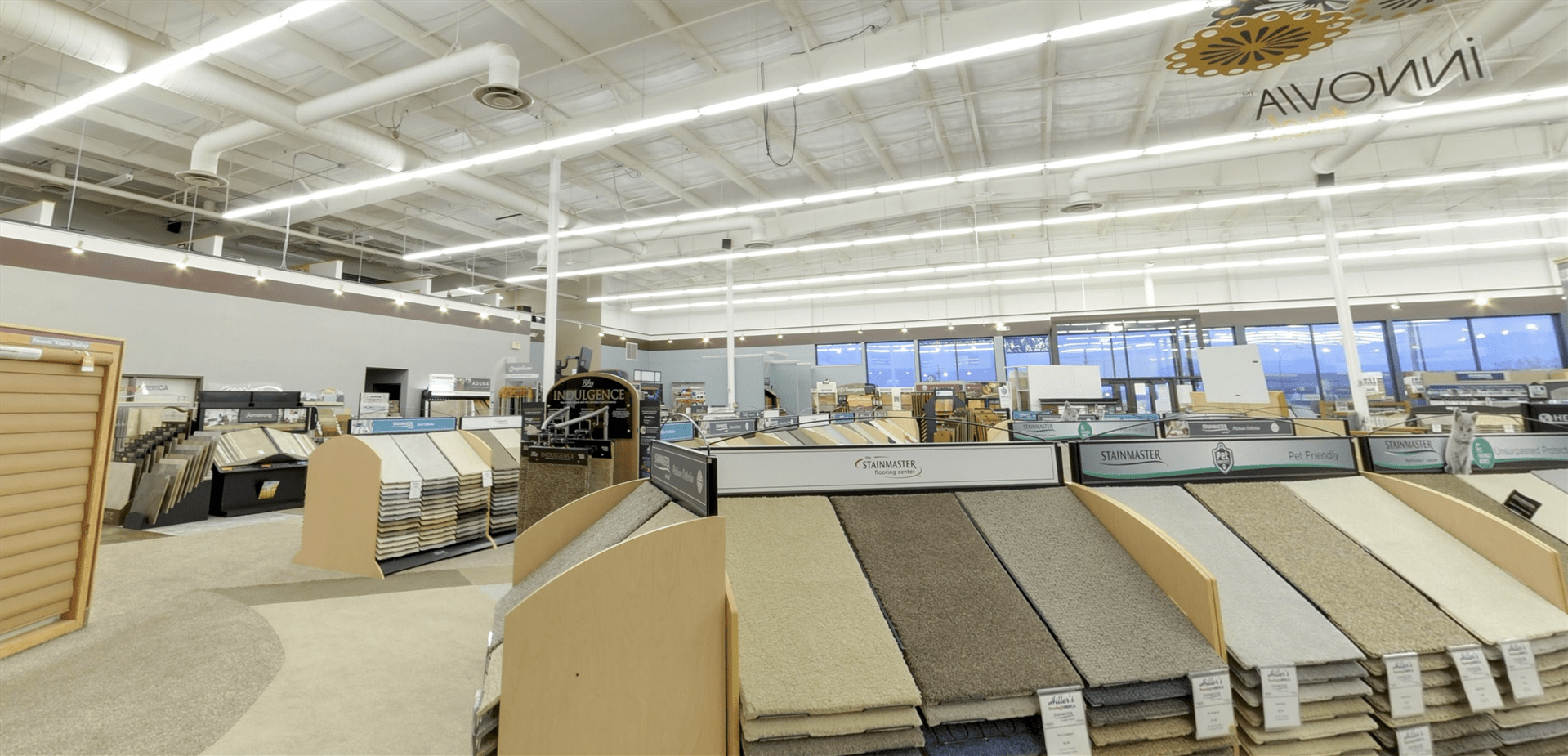 Stainmaster carpet for your North Dakota business from Hiller Stores