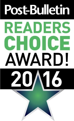 Hiller Stores is a 2016 Post-Bulletin Readers Choice Winner!