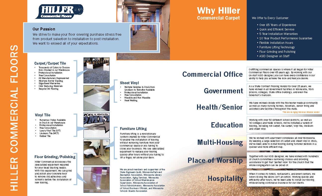Why Hiller Commercial Carpet